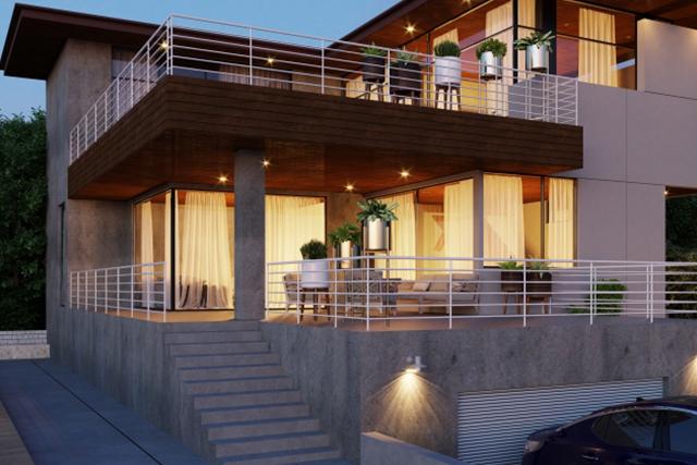 新たな住まいの形、半屋外空間